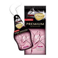Ароматизатор сухой листик Fresh Way Premium Dry Feeling (Чувства)