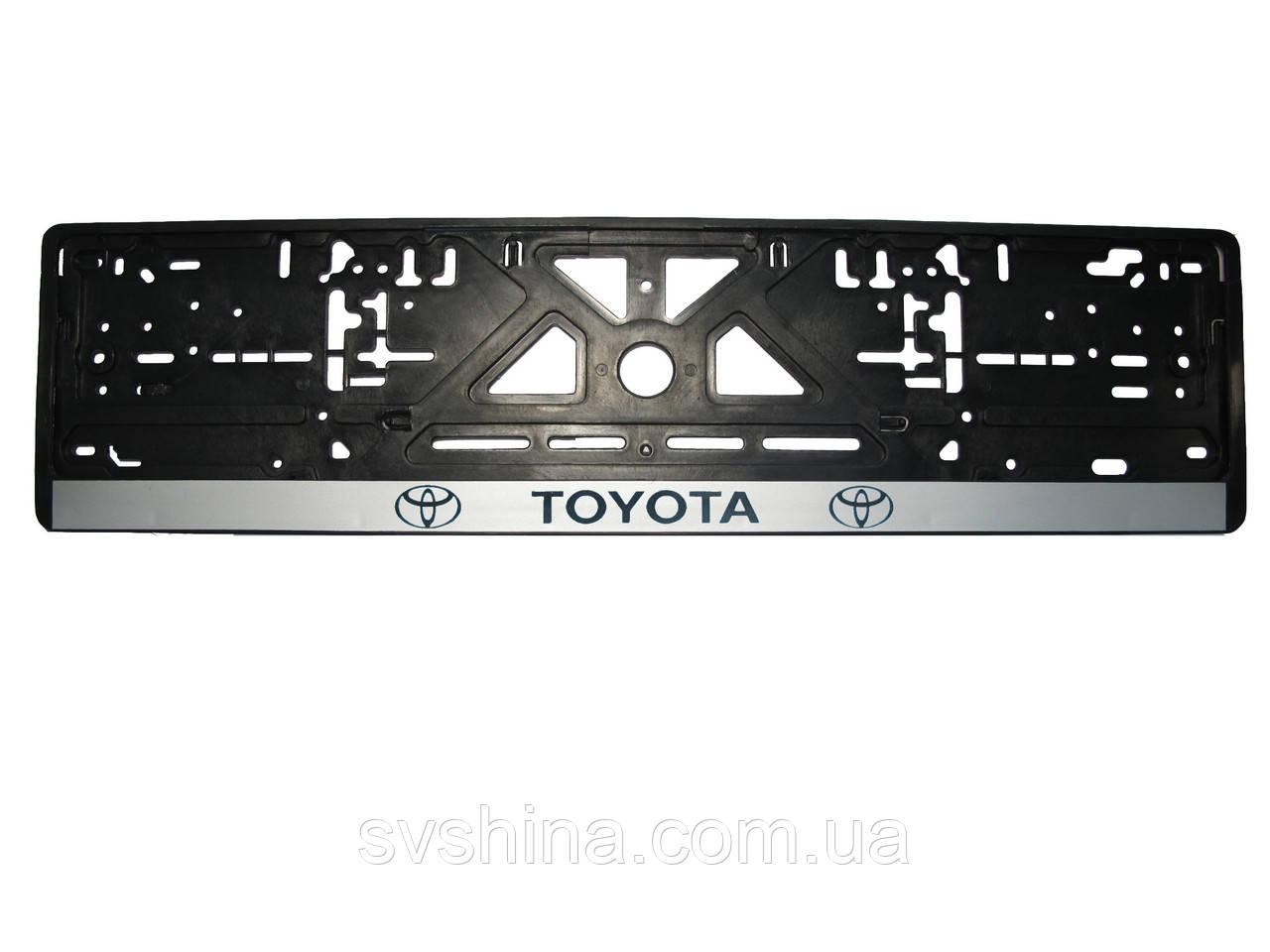 Рамка номерного знака Toyota 1шт