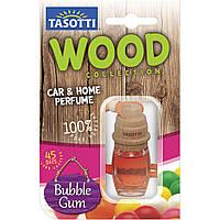 Ароматизатор пробковый на зеркало Tasotti Wood Bubble Gum (Жевательная Резинка) 7ml