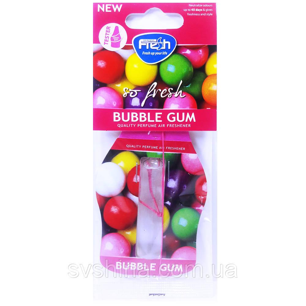 Рідкий Ароматизатор на дзеркало Fresh Way So Fresh Ampule Bubble Gum (Жувальна Гумка) 4,5 ml