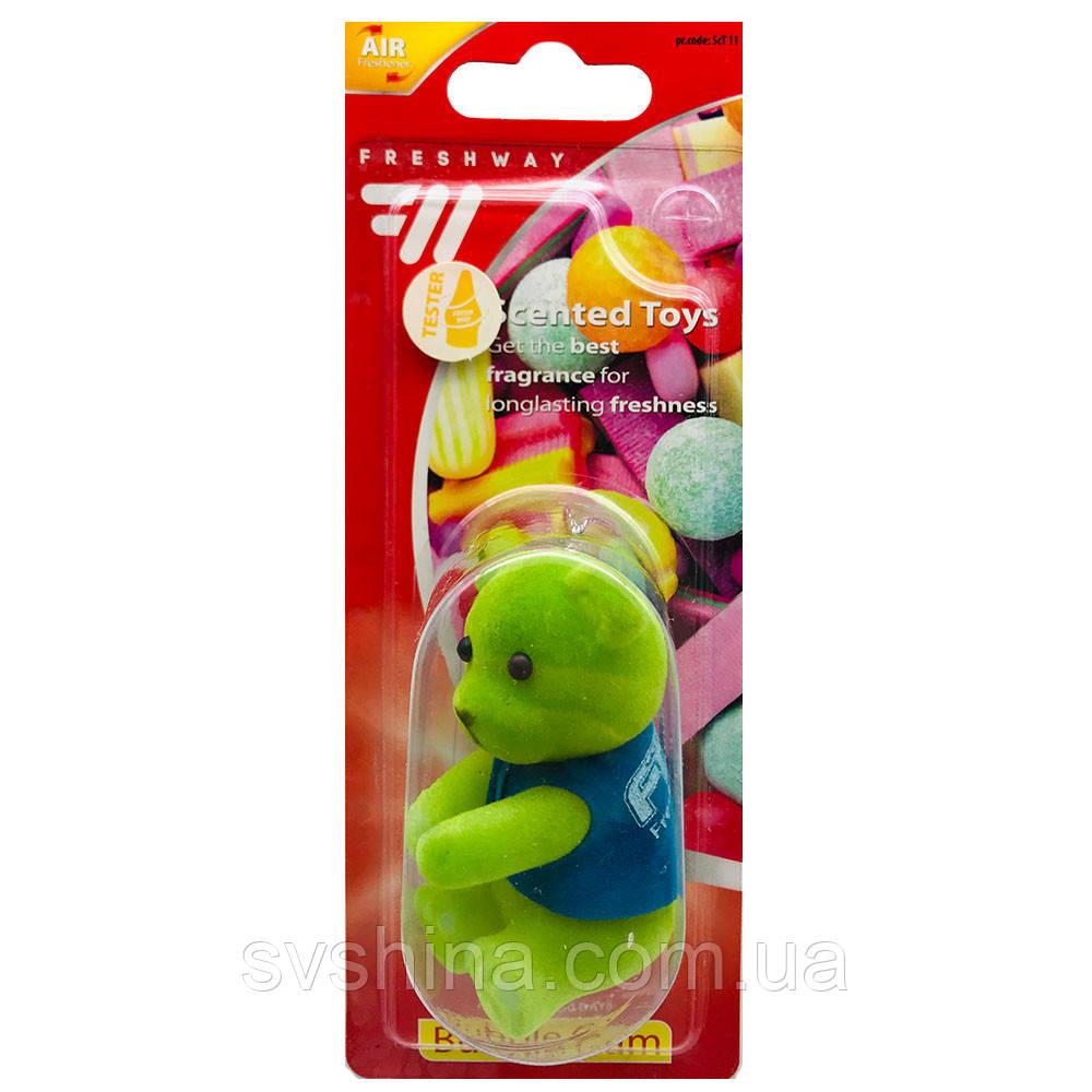 Ароматизатор іграшка на дзеркало Fresh Way Toys Bubble Gum/Balloons (Жувальна Гумка)