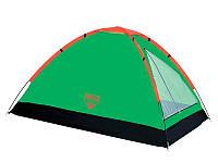 Палатка туристическая Bestway 68010 Plateau трехместная Зеленый 003852, КОД: 950112