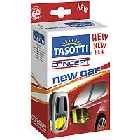 Ароматизатор жидкий на дефлектор (обдув) Tasotti Concept New Car (Новая Машина) 8ml