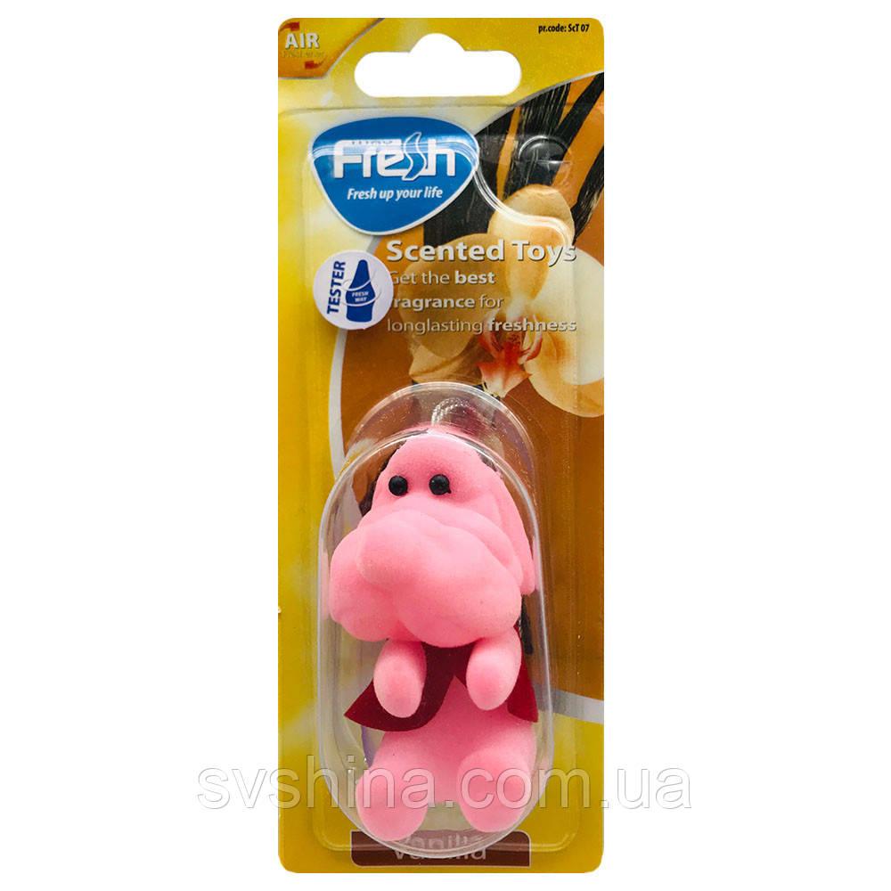Ароматизатор игрушка на зеркало Fresh Way Toys Vanilla (Ваниль)