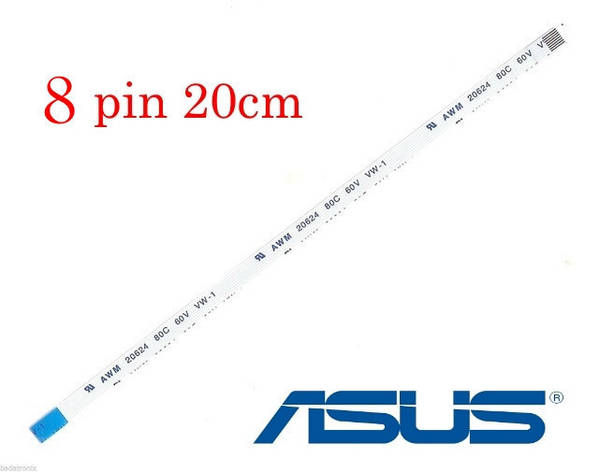 Кабель шлейф тачпада  ASUS A541U, A541UA, A541UV - 8 pin 20см FFC FPC, фото 2