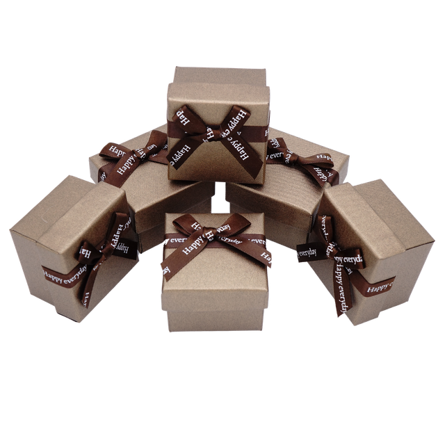 Картинка Коробка ювелирная box1-2 Коричневый