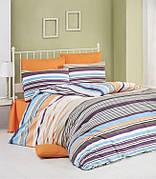 Комплект постельного белья Linda Евро ранфорс 11488-01 арт.ts-01248