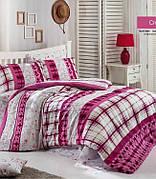 Комплект постельного белья Linda Евро ранфорс 6097-012 арт.ts-01235