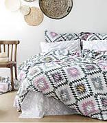 Комплект постельного белья Linda полуторный ранфорс 6951 арт.ts-01228