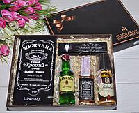 """Подарочный набор для Мужчины """"3 виски"""" с шоколадом"""