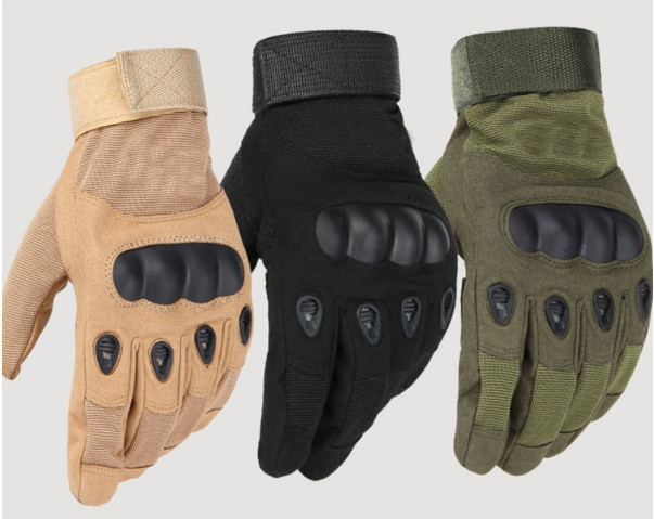 Тактические перчатки закрытые, полнопалые Oakley