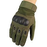 Тактические перчатки закрытые, полнопалые Oakley, фото 9
