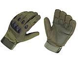 Тактические перчатки закрытые, полнопалые Oakley, фото 4