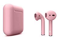 Матовые наушники Apple AirPods 2 (Матовый Розовый) Mate-Pink