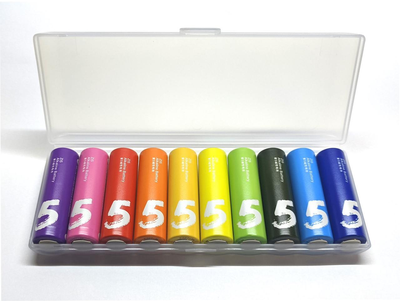 Батарейки Xiaomi ZMi ZI5 Rainbow AA пальчикові 10 шт