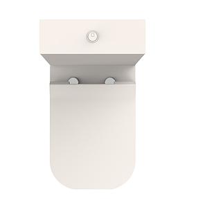 Компакт безобідковий+кришка quick-fix, soft-close NEW (нова тонка кришка) 3010120 UP Devit, фото 2