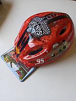 #33 Детский велошлем Disney Cars Red, фото 1