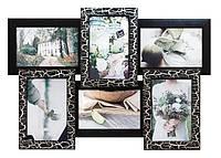Настенная фото рамка «Черное Серебро» — яркое сочетание классических цветов