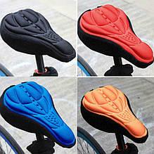 Силиконовая накладка-чехол на седло велосипеда.