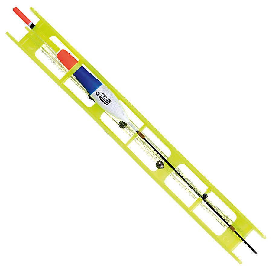 Оснастка поплавочная Lineaeffe Fluorocarbon GIALLA (2.0гр осн леска0.2 пов.0.18 крючок№10)
