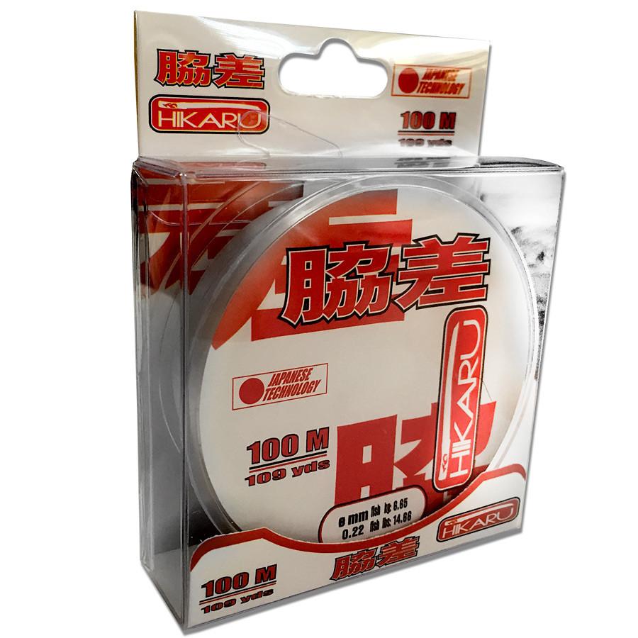 Леска Lineaeffe Hikaru 100м.  0.18мм  FishTest 4.18кг (прозрачная)  Made in Japan