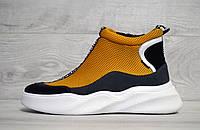 Кросівки жіночі WinLove високі 39 Жовті wl20311339, КОД: 1650431