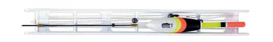 Оснастка поплавочная Lineaeffe Fluorocarbon BIANKA (1.0гр осн леска0.14 пов.0.12 крючок№18)