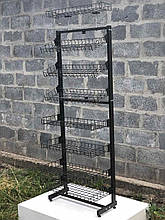Сітчастий односторонній стелаж універсальний 60 см