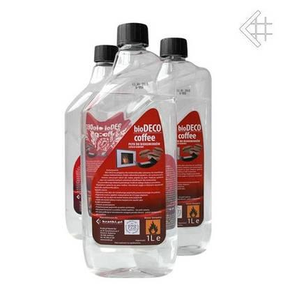 Биотопливо с ароматом кофе (топливо для биокаминов) 1л, фото 2