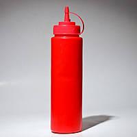 Красный диспенсер для соусов и сиропов (Empire Эмпаир Емпаєр) EM-7080