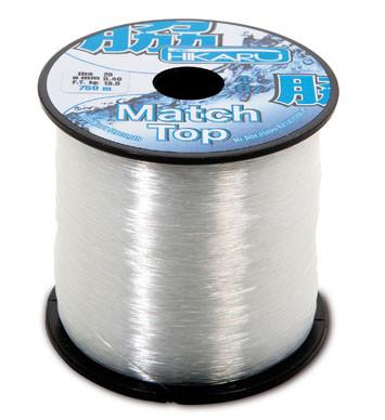 Леска Lineaeffe Hikaru Top Match  0.33мм  650м.  FishTest-9кг  (белая)  Made in Japan