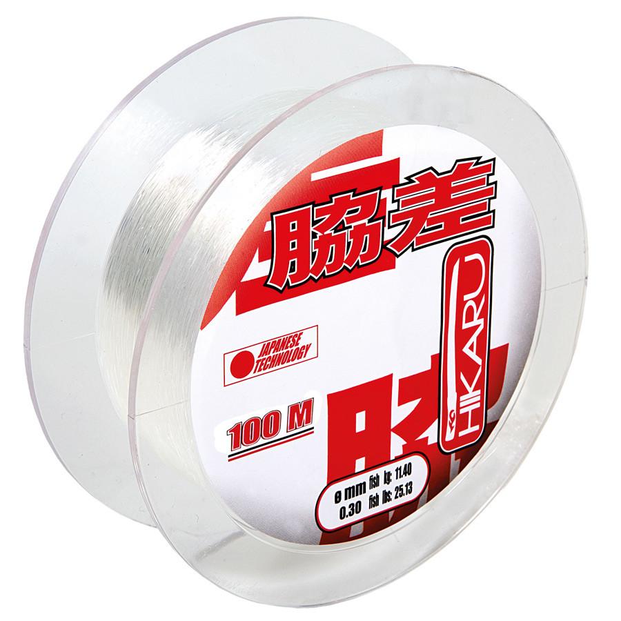 Леска Lineaeffe Hikaru 100м.х10  0.22мм  FishTest 6.65кг (прозрачная)  Made in Japan