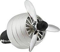 Автомобильный ароматизатор CFK-03-A пропеллер на дефлектор Silver