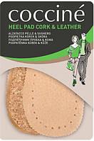 Подпяточник кожаный на пробке Натуральная кожа Coccine Heel Pad CORK - LEATHER