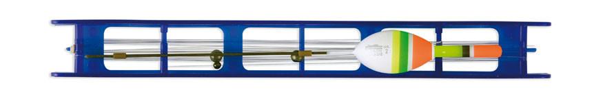 Оснастка поплавочная Lineaeffe Fluorocarbon BLU (2.5гр осн леска0.20 пов.0.18 крючок№10)