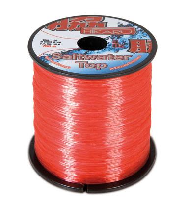 Леска Lineaeffe Hikaru Top Saltwater  0.30мм  800м.  FishTest-7.9кг  (красная)  Made in Japan