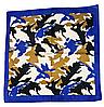Хлопковая бандана Fashion Камуфляж 55*55 см синий