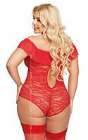 Боді - Kamila, червоне, фото 2