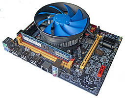 Комплект X79 2.72A + Xeon E5-2630v2 + 16 GB RAM + Кулер, LGA 2011