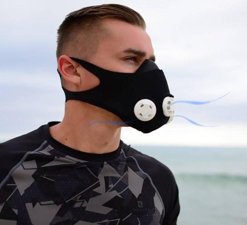 Маска для тренувань обмежувач дихання Motion Mask MA-836 Краща ціна!