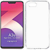 Чехол Epic Transparent 1,0mm для OPPO A5 / A3S / AX5 / R15-NEO
