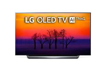 Телевизор LG OLED55C8 (55 дюймов, OLED TV, Smart, 4K, Ultra HD, Wi-Fi, Bluetooth, HDR)