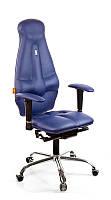 Ортопедическое Офисное Кресло «Galaxy» Kulik System СИНИЙ