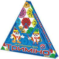 Настольная игра для детей «Тримино» ТЕХНОК (2827)