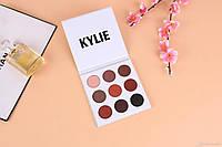 Тени для век 9 в 1 Kylie  Kyshadow Pressed Powder Eyeshadow Bronze Palette