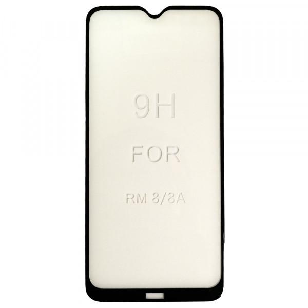 Защитное стекло 5D Strong для Xiaomi Redmi 8/8A black