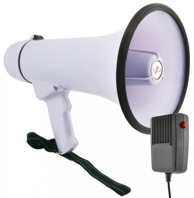 Громкоговоритель переносной усилитель микрофон рупор  MEGAPHONE  HW 20B