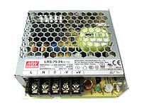 Блок питания LRS-75-12 12вольт 75вт IP20  MEAN WELL 8780о