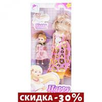 Кукла беременная Happy Mother с ребёнком (розово-золотой)