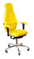 Ортопедическое Офисное Кресло «Galaxy» Kulik System ЖЕЛТЫЙ